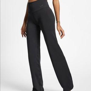Nike yoga pants plus size wide leg Navy blue
